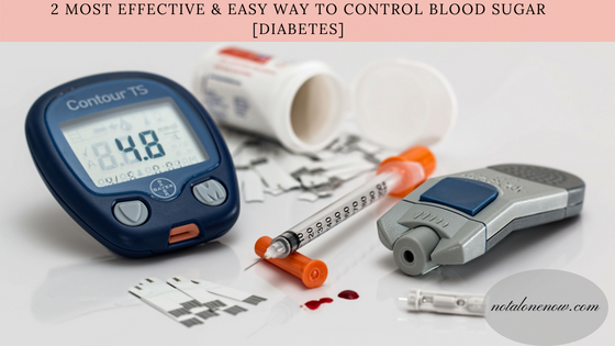 2 effective & easy ways to fight diabetes.