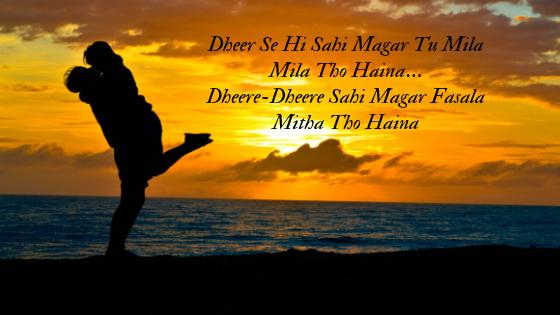 Tu Mila Tho Haina-Song Lyrics Arijith Singh De De Pyaar De