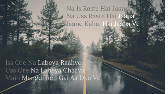 Kis Rasye Hai Jaana Lyrics Judgemental Hai Kya