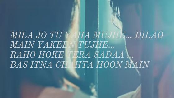 Thodi jagah lyrics arijit singh marjaavan