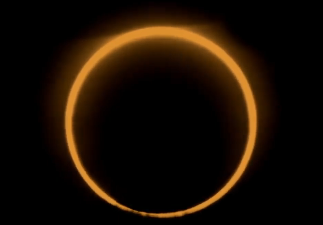 Annular eclipse 26 december 2019 pictures