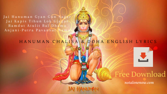 Hanuman Chalisa Doha English lyrics