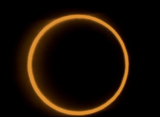 Pictures of ring of fire, total solar eclipse 26 december 2019