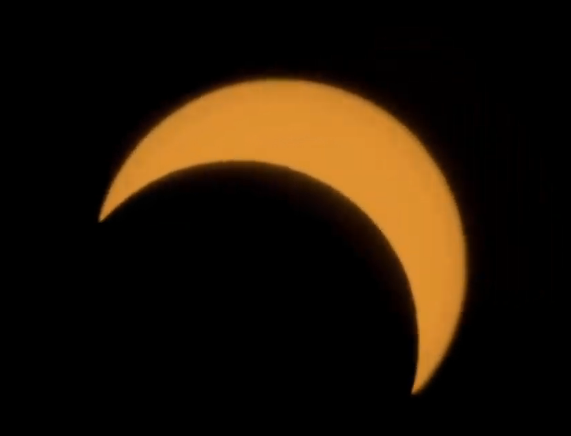 Solar eclipse pictures