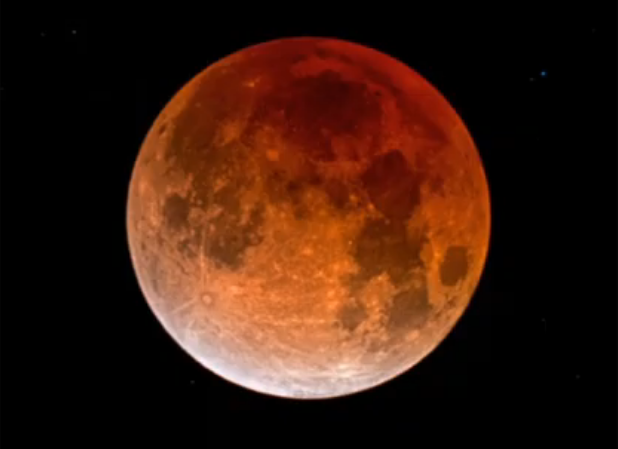 Lunar eclipse 10 january 2020