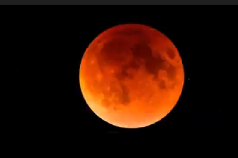 First Lunar Eclipse of 2020