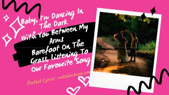 Perfect Lyrics Ed Sheeran
