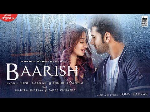 Baarish Lyrics Paras and Mahira