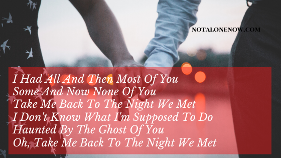 The nIght We Met Lyrics