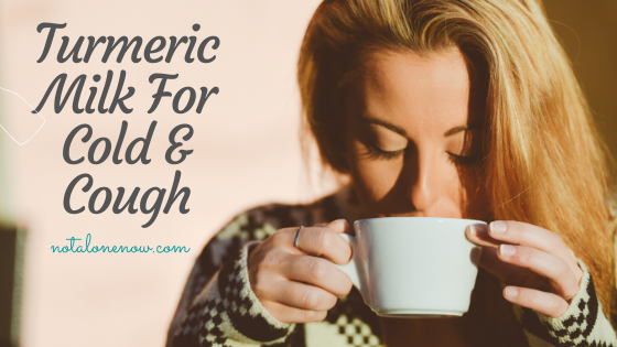 Turmeric Milk For Cough