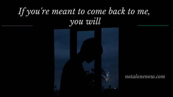 if you are meant to come back lyrics