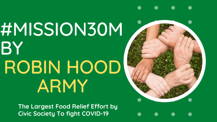 Mission30M by Robin Hood Army