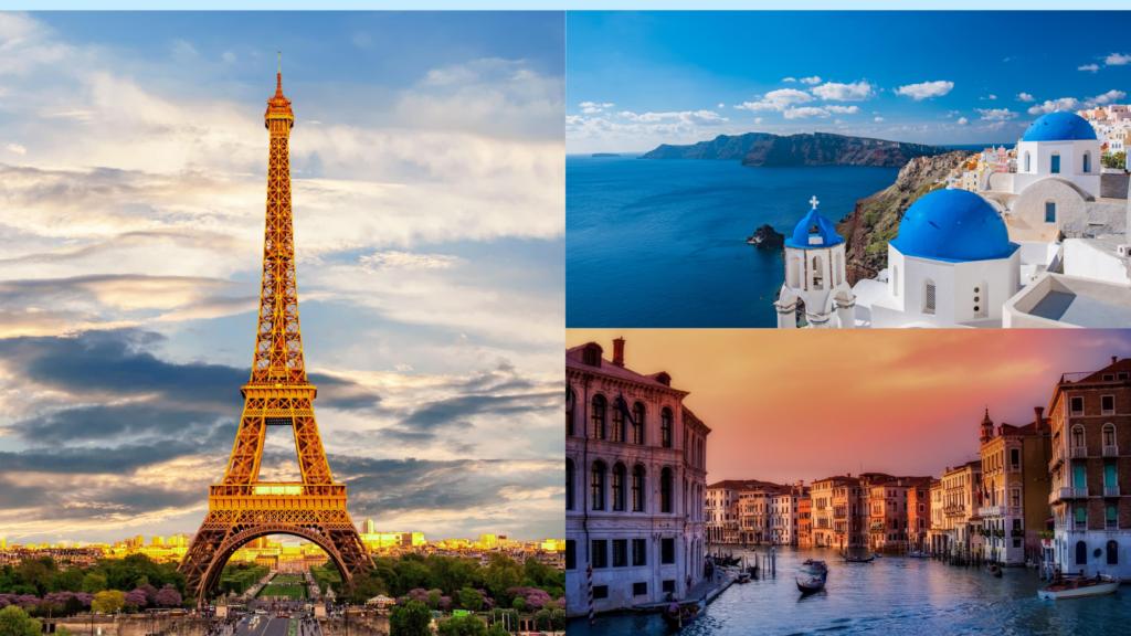 Paris, Venice & Greece