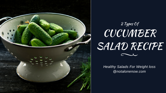 Cucumber Salad For Weight loss