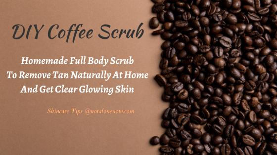 DIY Coffee Scrub