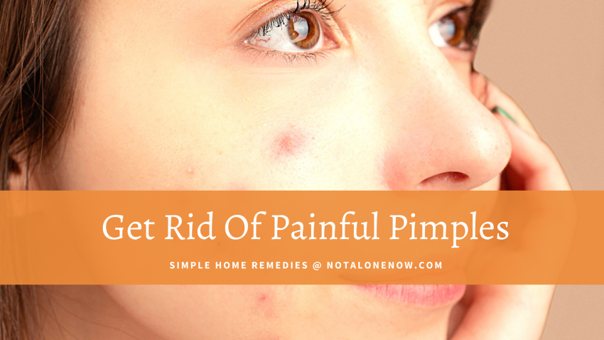 Instant Relief From Painful Pimples